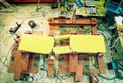 住宅の基礎梁実験