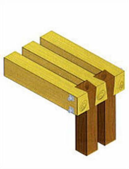 木質圧着工法「特許出願中」