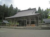 長滝白山神社拝殿
